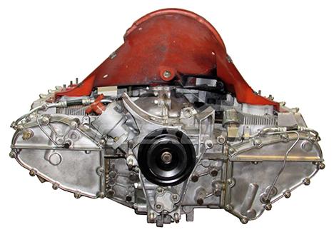 Porsche Fully Rebuilt & Updated Engine