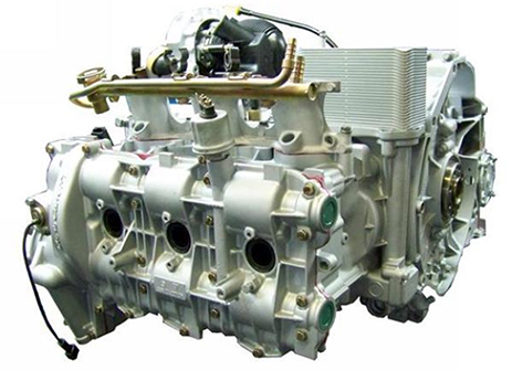 Porsche Fully Rebuilt & Updated Engine