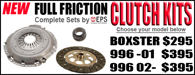 Porsche 986 Boxster & 996 Clutch kits by EPS