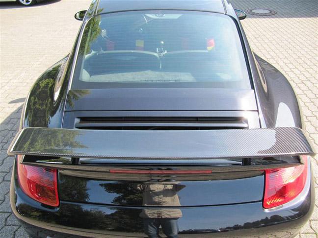 Porsche 997 Carbon Fiber Spoiler by Schnell