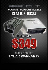 Porsche DME & ECU control units