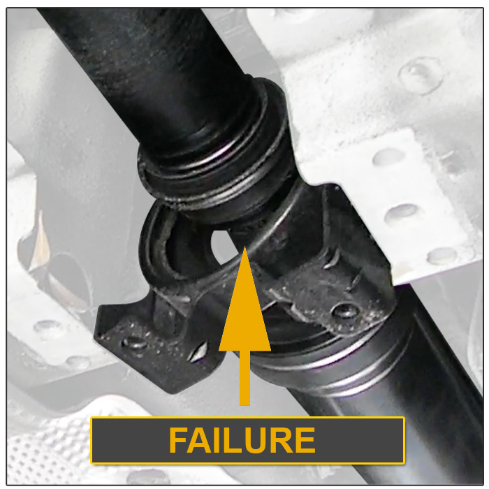 Cayenne Drive Shaft Driveshaft Repair Clamping Support Mount
