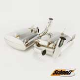 Porsche 996 Performance Muffler Set - Schnell