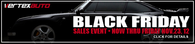 Vertex Automotive - Black Friday Sales Event!