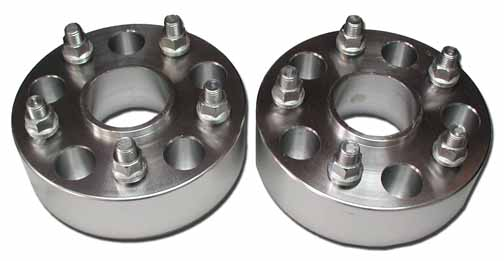 Porsche 1.5' inch Wheel Adapter Spacers - Free Freight