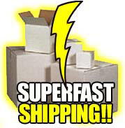Superfast Shipping!!