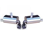 Porsche Boxster Performance Mufflers Set - Elite