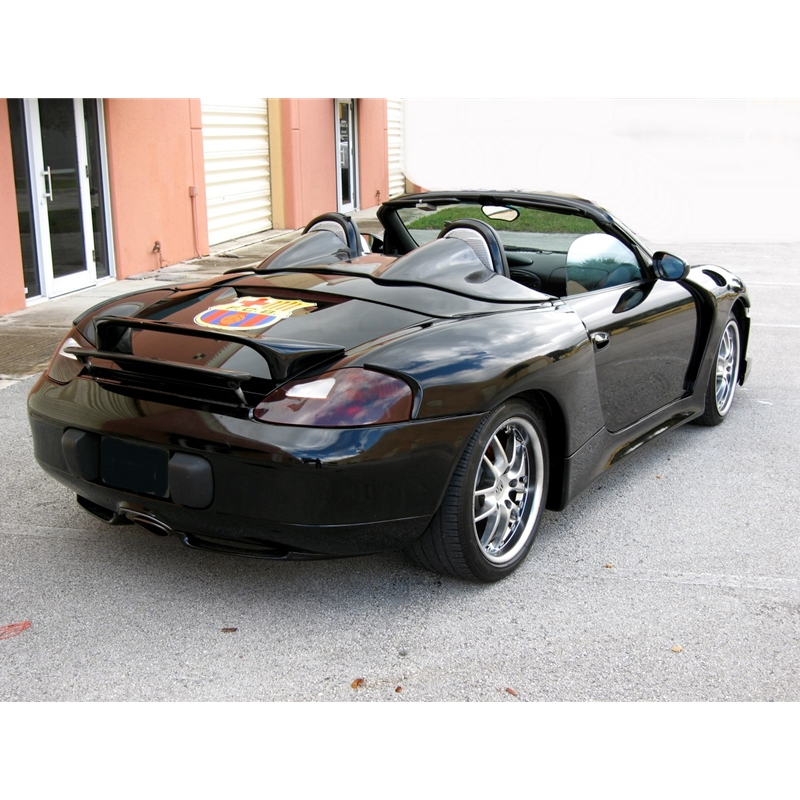 porsche 986 boxster wide body kit 4 flares 2 side skirts p986wd. Black Bedroom Furniture Sets. Home Design Ideas