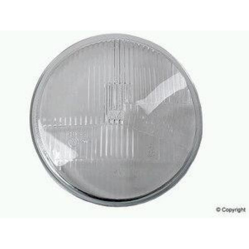 Porsche European Headlight Lens H-4 H4 -- DISCONTINUED