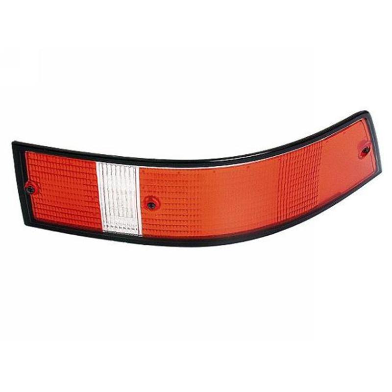 Custom Tail Light Lenses : Aftermarket tail light lens u s right black trim