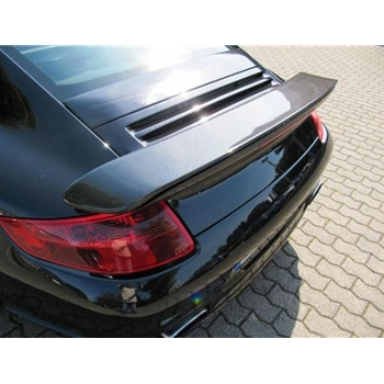 Porsche 997 Turbo Carbon Fiber Look Tail Wing