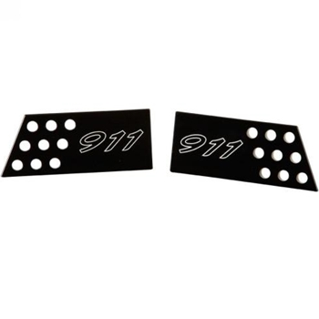 Porsche 911 Interior Door Handle Set - Black
