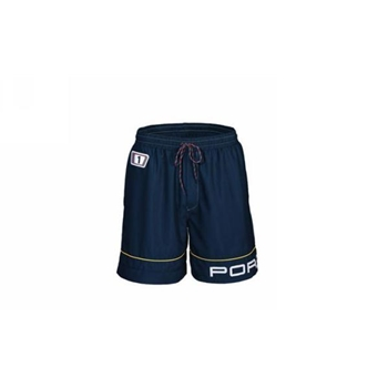 Porsche Swimming Trunks - Blue with Martini 1