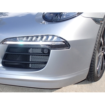 Front Bumper Wire Mesh Grill Kit (Outers)