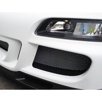 Front Bumper Wire Mesh Grill Kit