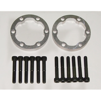 Porsche Axle Spacer Kit, Rear, 15mm, 986/987/996/997 (except Tiptronic) - Tarett Engineering
