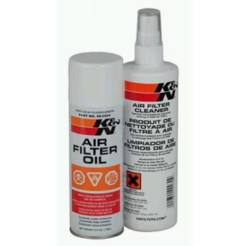 Porsche K&N Oil & Cleaner Kit