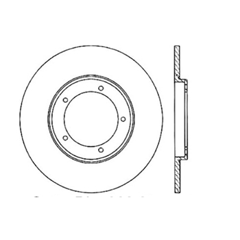 StopTech 127.37031CL Brake Rotor