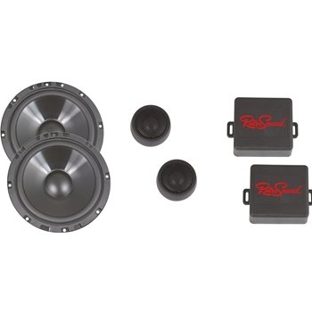 Porsche 6.5-Inch Ultra-thin Water-resistant Component Speaker System