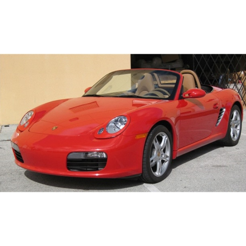 Porsche Boxster Headlight Covers With 2 Holes 987 Painted